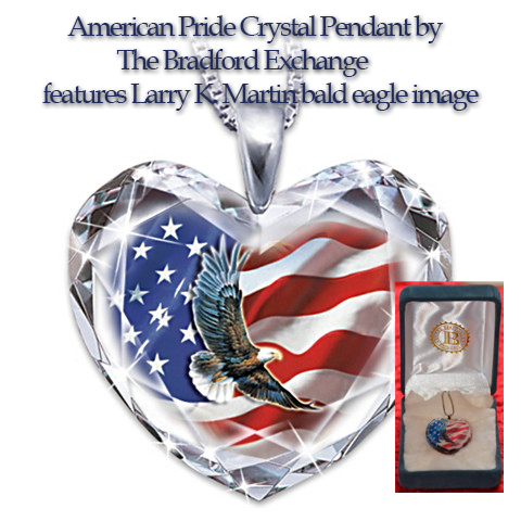 American Pride Eagle Pendant by The Bradford Exchange