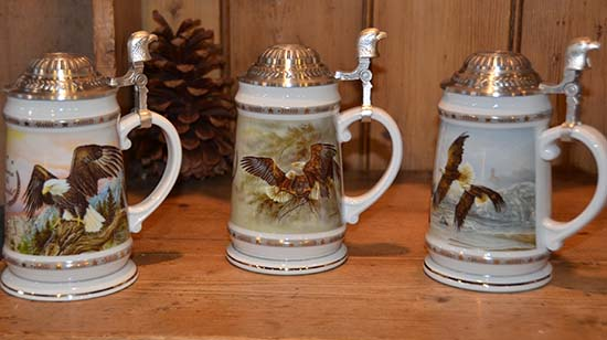 America the Beautiful Steins